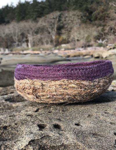 Basket at Herron Rocks, Hornby Island