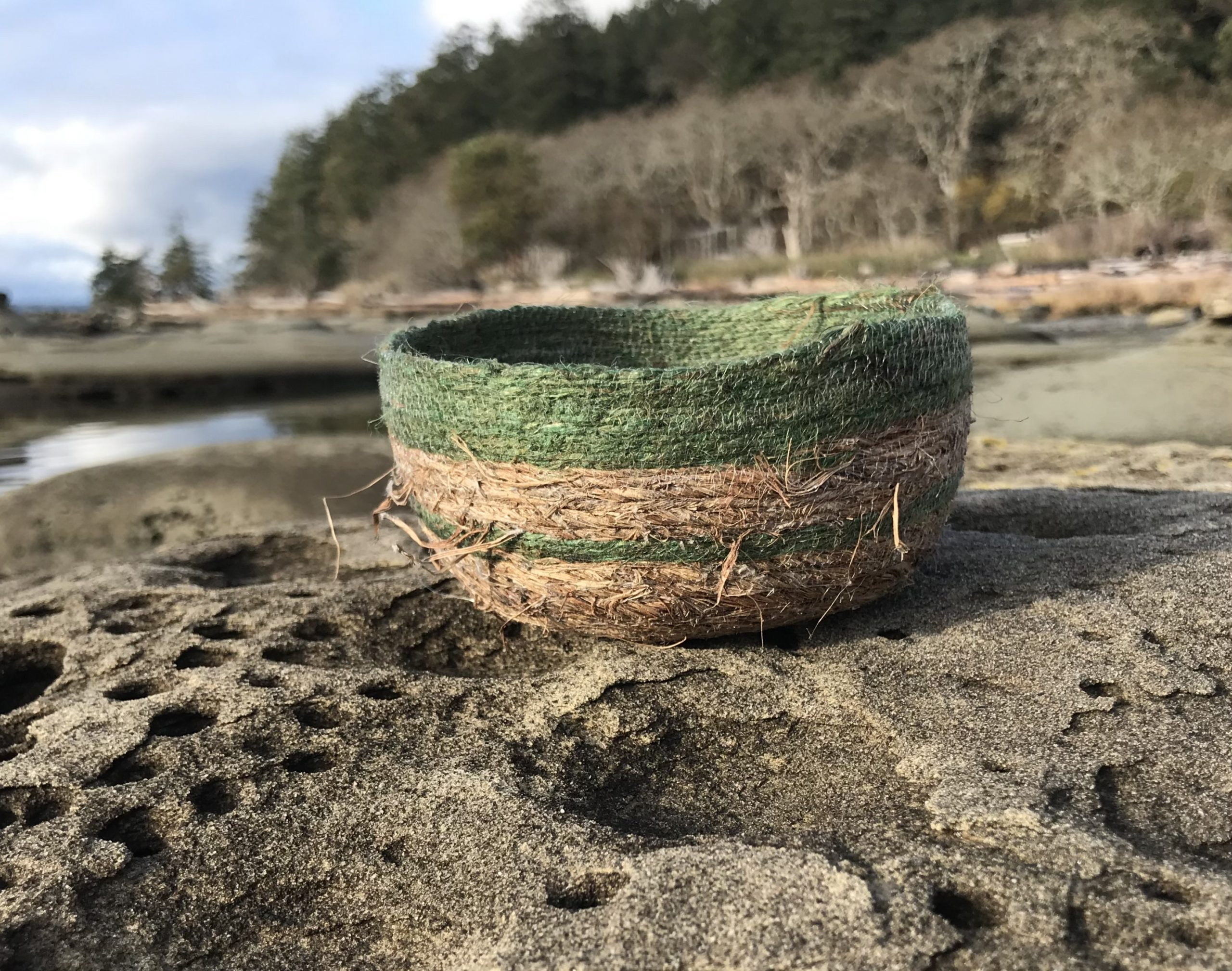 Basket at Herron Rocks, Hornby Island